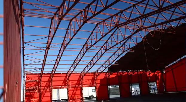 Термоизолация на метална сграда