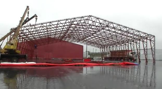 изграждане на метална конструкция